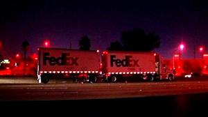 FedEx Truck Crash on I-79