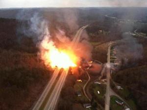 I-77 Sissonville gas line explosion