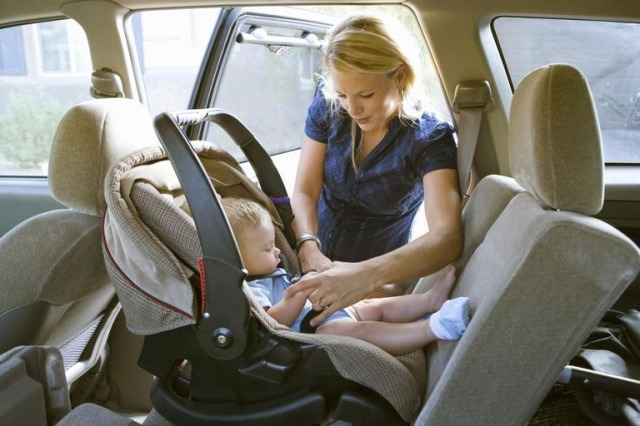 Car Seat Properly Installed